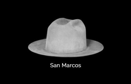 custom San Marcos brim shape