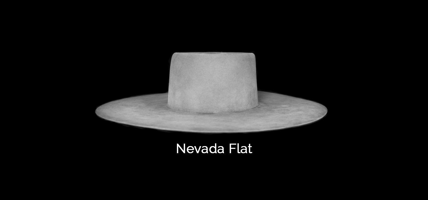 nevada flat crown shape